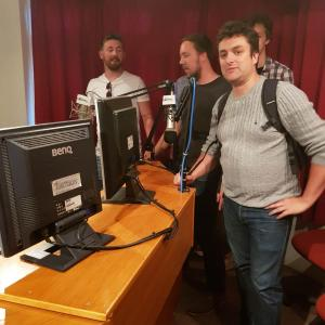 Visit to Luton & Dunstable Hospital Radio, July 2018