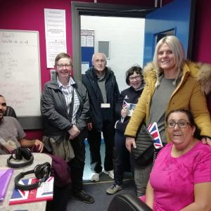 Visitors from Watford Mencap